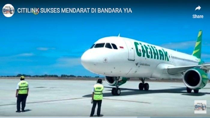 Angkasa Pura I Gratiskan Landing Fee dan Aviobridge di Yogyakarta International Airport