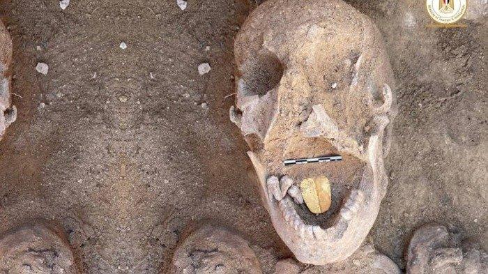 Misteri Mumi Mesir Kuno Berlidah Emas Ini Bingungkan Arkeolog, Apa Fungsinya?