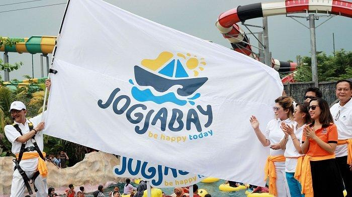 Rayakan HUT ke-3, Jogja Bay Pirates Adventure Waterpark Launching Logo dan Tag Line Baru