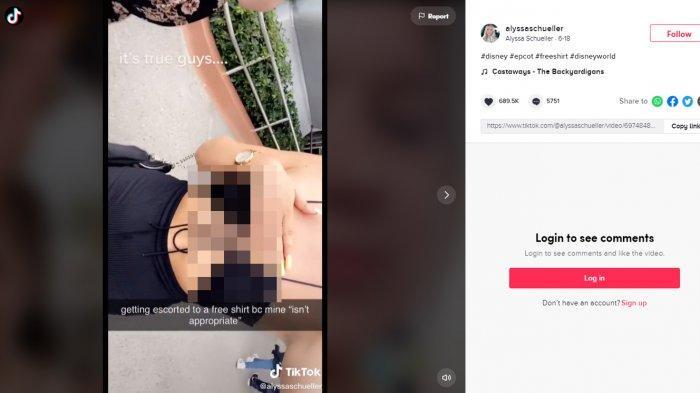 Viral Video Gadis Berbaju Minim Diberi Kaus Gratis oleh Disney, Pakaiannya Dianggap 'Tidak Pantas'