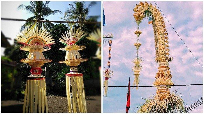 6 Potret Penjor yang Banyak Dicari saat Galungan di Bali