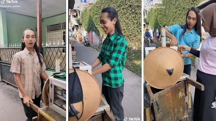 Heboh Wajah Tukang Jamu Disebut Mirip Aktor Drama China, Tiap Hari Jualan Pakai Gerobak