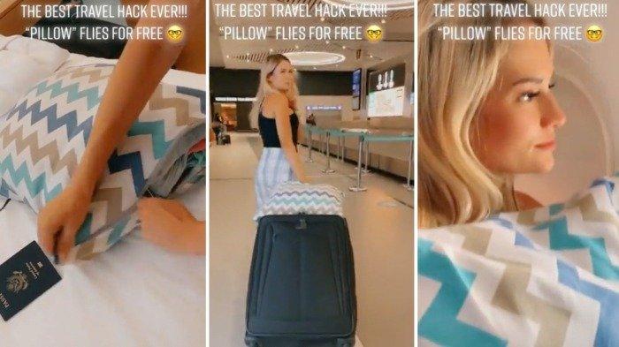 Penumpang bagikan tips dapat bagasi kabin gratis dalam penerbangan