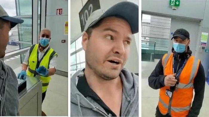 Penumpang ini Kesal Setelah Dilarang Terbang ke London Karena Tidak Memakai Masker