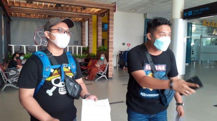 Hasil PCR Positif, 2 Penumpang di Bandara Pangkalpinang Ngotot Tetap Ingin Terbang Meski Dilarang