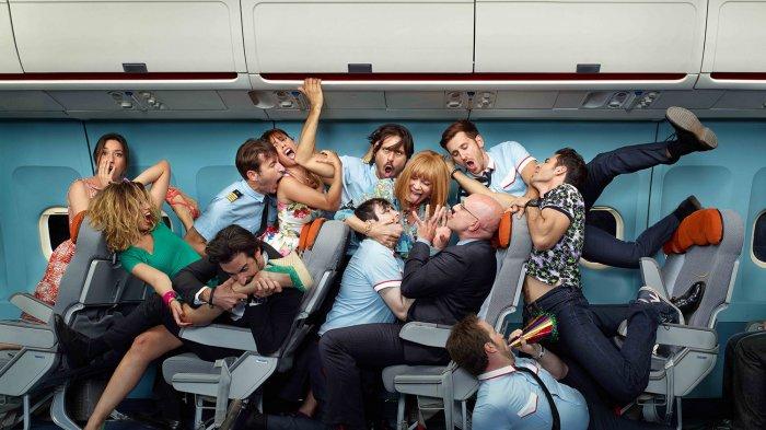 Akibat Mabuk, Ibu dan Anak Picu Perkelahian dalam Penerbangan, Libatkan hingga 20 Pria