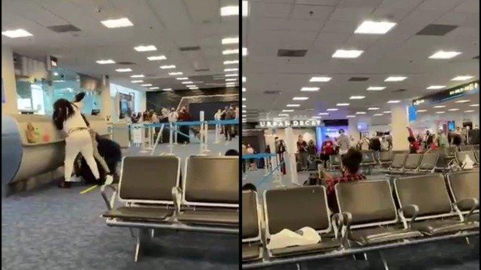 Viral di Medsos, Perkelahian Massal Terjadi di Bandara Hanya Gara-gara Kursi