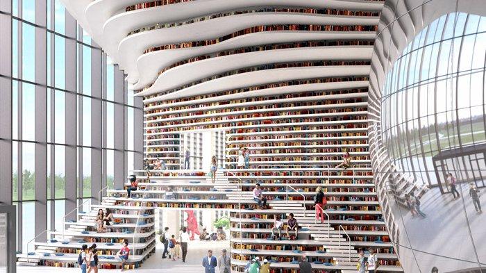 5 Perpustakaan Terindah di Dunia, Jangan Lupa Kunjungi Perpustakaan Stuttgart City