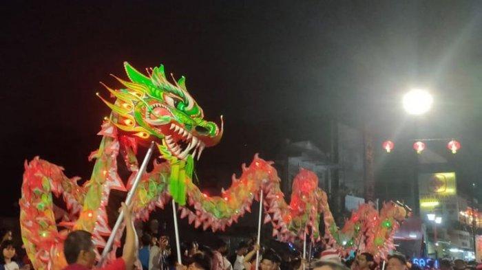 Perayaan Cap Go Meh di Bogor Street Festival Berlangsung Meriah, Ada 40 Barongsai dan 16 Liong