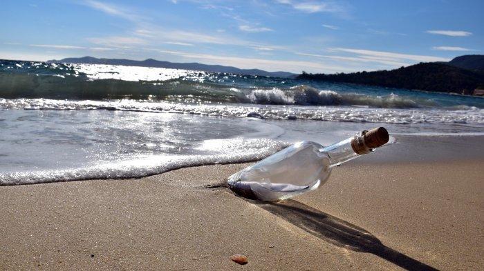 Pesan dalam Botol yang Dihanyutkan dari Jepang 37 Tahun Lalu Ditemukan di Hawaii, Isinya . . .
