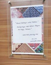 Pesan Iriana Joko Widodo kepada Gaya Hijab by TUTY ADIB