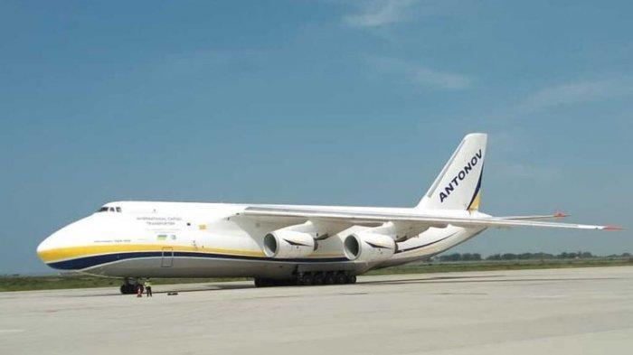 Fakta Antonov AN 124-100, Pesawat Kargo Terbesar Kedua di Dunia yang Mendarat di YIA