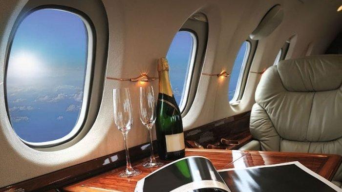 Mengintip Menu Makanan Mewah Jet Pribadi, Harganya Belasan Juta Rupiah