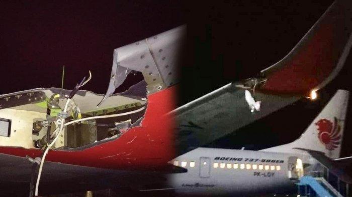 Pesawatnya Tabrak Tiang Lampu Koordinat di Bandara Fatmawati Bengkulu, Ini Penjelasan Lion Air