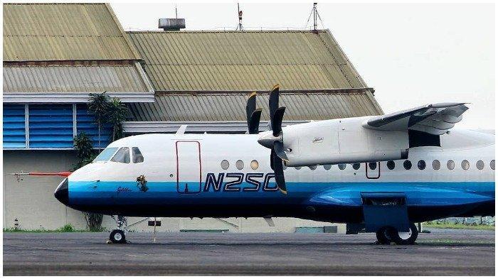 Mengenal Pesawat N250 Gatot Kaca dan R80 yang Dirancang BJ Habibie