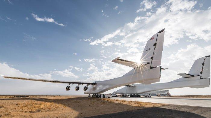 Lebar 117 Meter dan Berat 226 Ton, Inikah Pesawat Terbesar di Dunia?