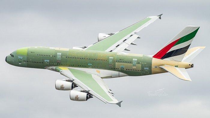 Produksi Terakhir Pesawat Superjumbo A380 Berhasil Menyelesaikan Penerbangan Pertamanya
