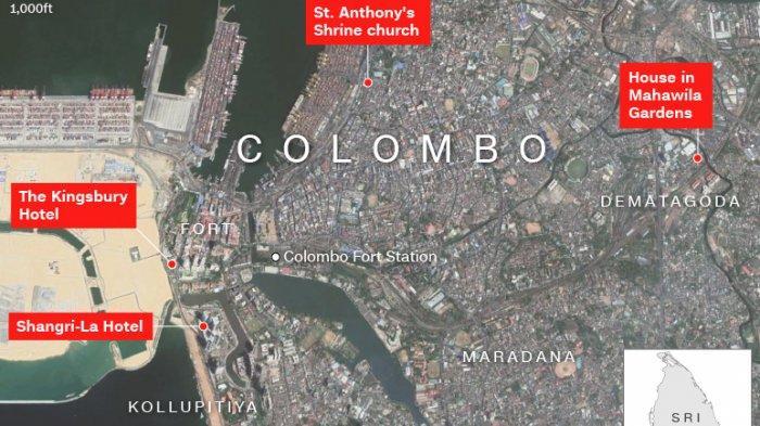 Pascateror Bom Paskah, Amankah Wisatawan Berkunjung ke Sri Lanka?