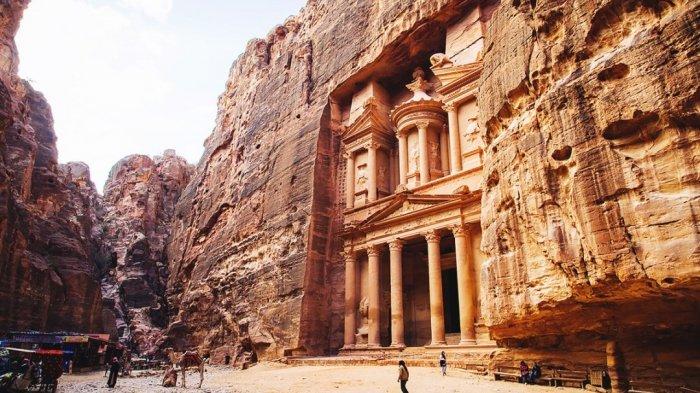 Petra di Yordania.