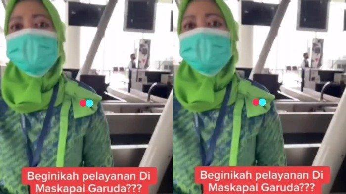 Viral Video Pria Terlambat Check-in, Marah-marah ke Petugas Garuda Indonesia
