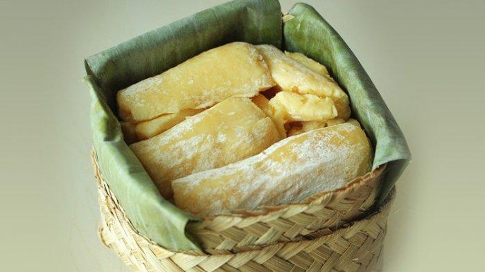 Peuyeum atau Tape makanan Jawa Barat dari Singkong
