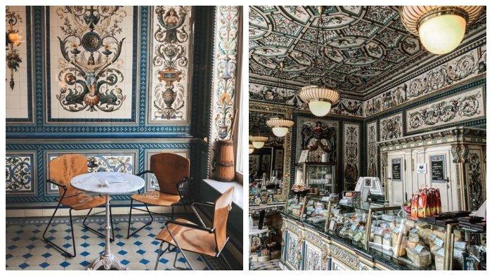 Pfunds Molkerei, Toko Susu Terindah di Dunia dengan Interior Megah Mirip Istana