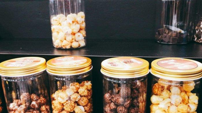 Pilihan popcorn yang bisa dicoba pelanggan di My Eureka
