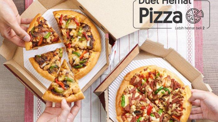 pizza hut - Promo Pizza Hut Nikmati Paket Doble Box Bisa Pilih Varian Apapun Harga Mulai Rp 185 Ribu