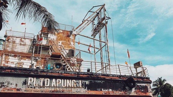 7 Potret PLTD Apung, Saksi Bisu Tsunami Aceh yang Kini Jadi Tempat Wisata