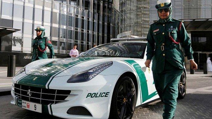 Ilustrasi Polisi Dubai