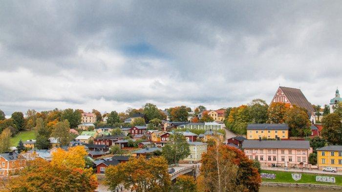 Porvoo, sebuah kota di Finlandia