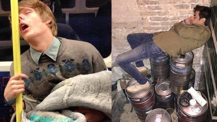Yahut! Begini 10 Ekspresi Kocak Orang Saat Tertidur di Tempat Umum, 4 dan 8 Pasti Tak Terbayangkan