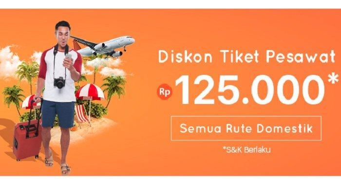 Best Travel Week Pegipegi.com, Ada Diskon Tiket Pesawat hingga Rp 125 Ribu Semua Rute Domestik