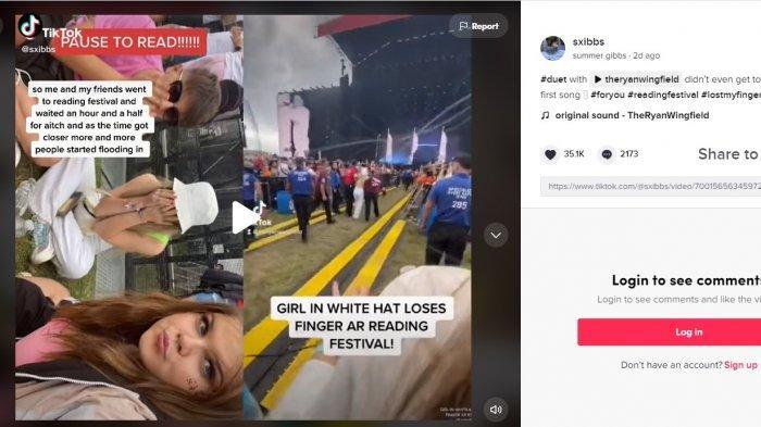 Potongan video yang menjadi viral di TikTok