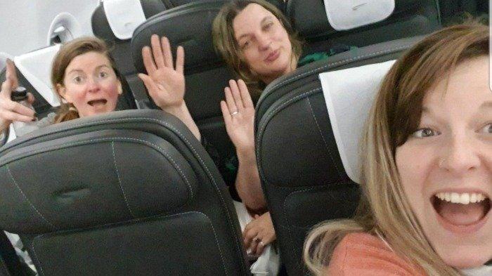 Viral di Medsos, Turis Ini Tolak Pakai Masker dan Sengaja Batuk saat Naik Pesawat