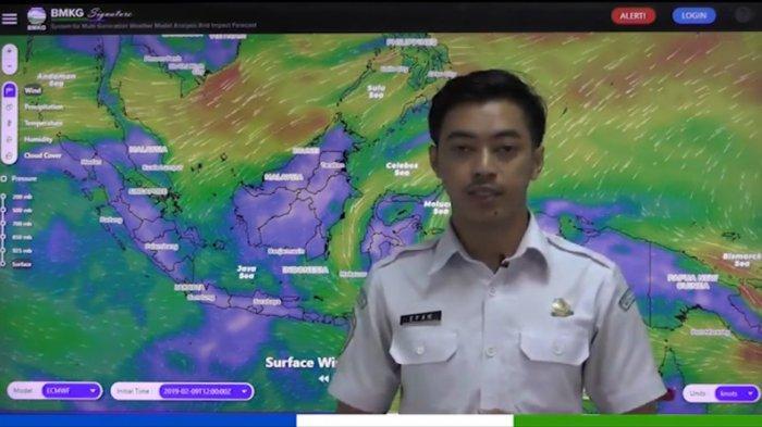 Update Info Prakiraan Cuaca Minggu 14 April 2019, Waspadai Hujan Lebat di Sumatera dan Kalimantan