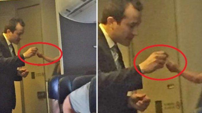 Bukannya Marah, Pramugara Justru Lakukan Hal Mengharukan Saat Bayi Menangis Tanpa Henti di Pesawat