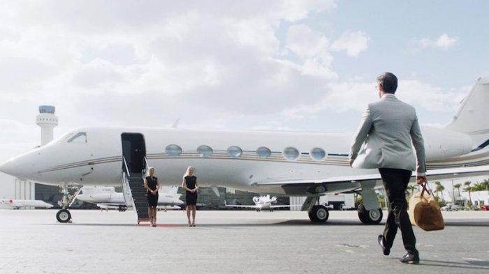 Menu Makanan Mewah di Pesawat Jet Pribadi, Harganya Belasan Juta Rupiah