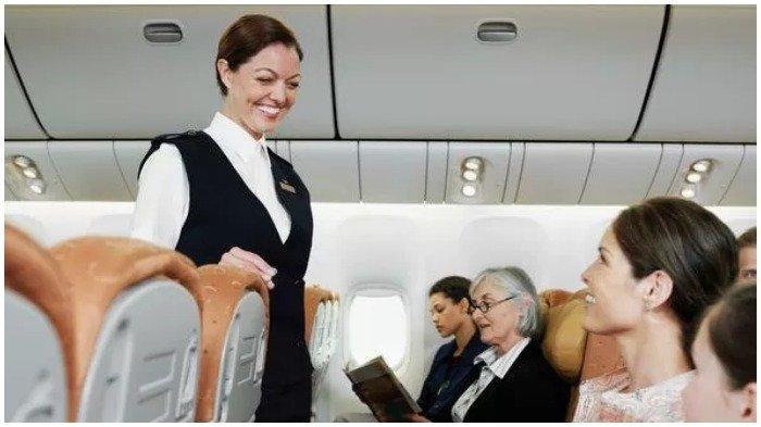 Pramugari Ini Ungkap Hal yang Sebaiknya Tidak Dilakukan Selama Penerbangan, Jangan Sentuh Pramugari