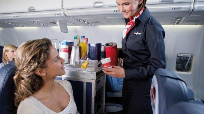 Pramugari berharap para penumpang bisa menaati aturan.