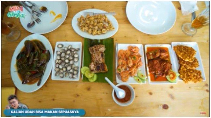 Menu seafood di Premium Seafood