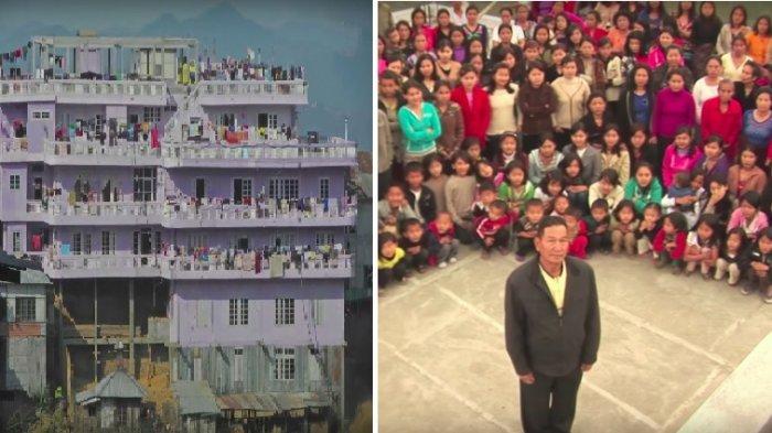 Pria Ini Tinggal Satu Atap dengan 9 Istri, 94 Anak dan 33 Cucu, Begini Agar Tidak Ada Kecemburuan