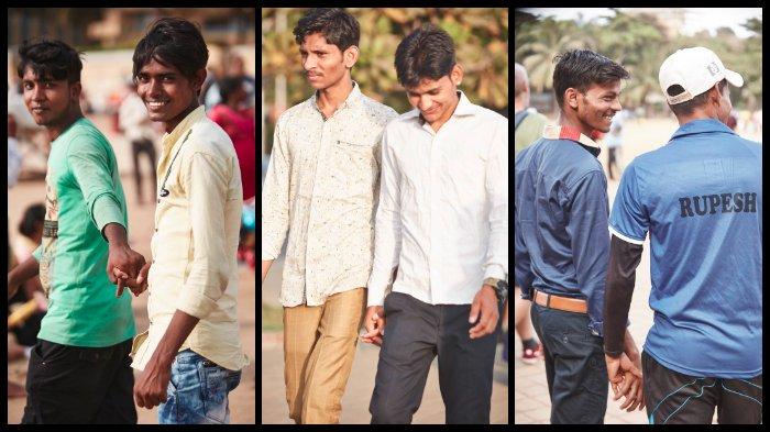Seorang Fotografer Ungkap Alasan Mengapa Pria-pria India Sering Bergandengan Tangan Satu Sama Lain