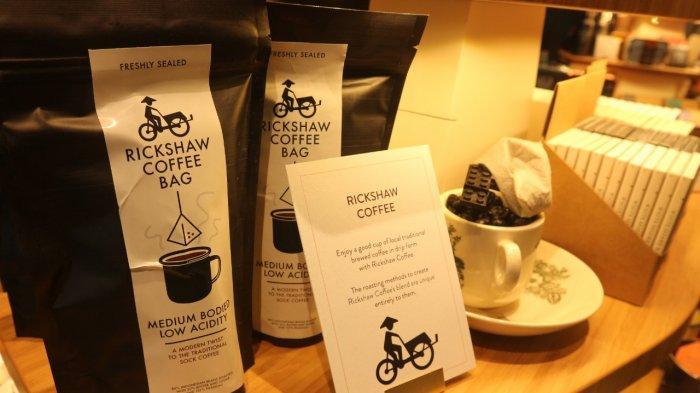 Produk kopi di Gift by Changi