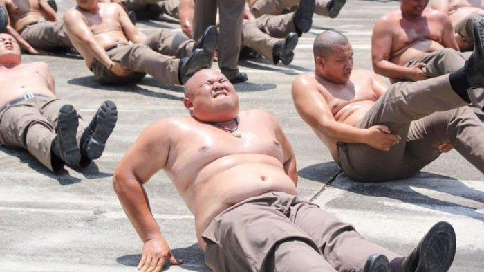 Atasi Polisi Gemuk, Pemerintah Thailand Kirim Polisi dengan Berat Badan Berlebih ke Fat Camp