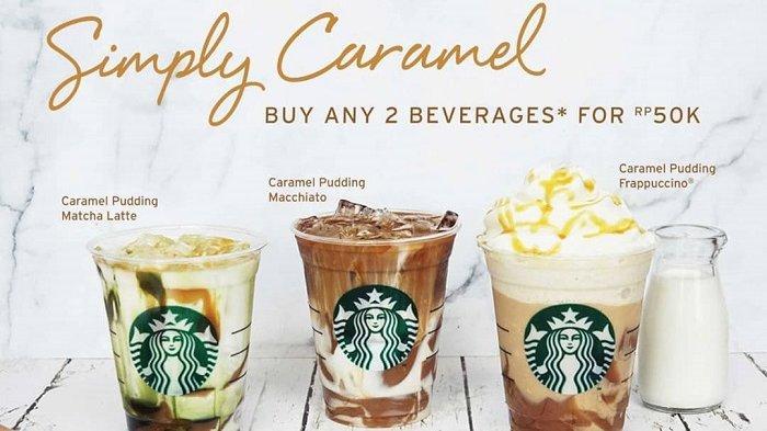 Promo Starbucks Hari Ini, Modal Rp 50 Ribu Bisa Nikmati 2 Gelas Simply Caramel
