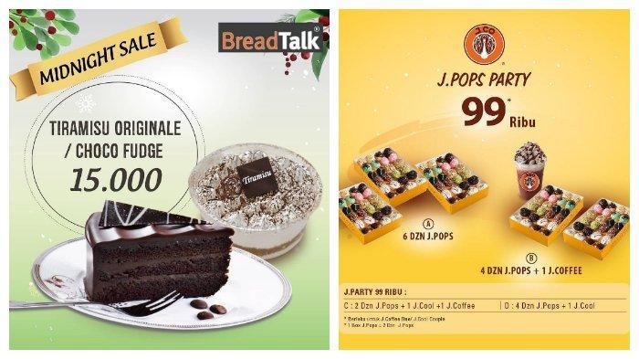 BreadTalk dan J.CO Berikan Promo Spesial Akhir Tahun dengan Harga Istimewa
