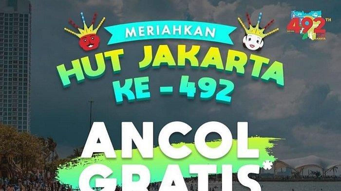 HUT Jakarta ke-492, Ini Daftar Promo Spesial Ulang Tahun Jakarta