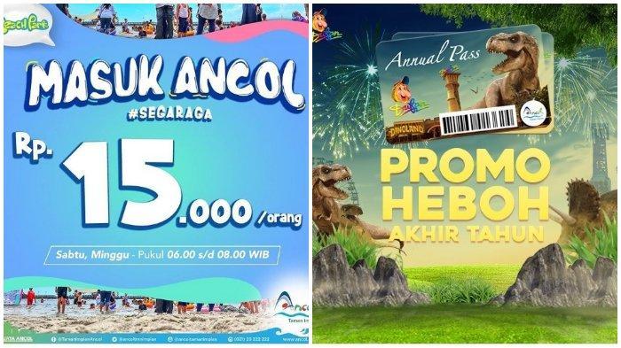 Promo Hari Sabtu dan Minggu Masuk Ancol hanya Rp 15 Ribu, Lihat Persyaratannya