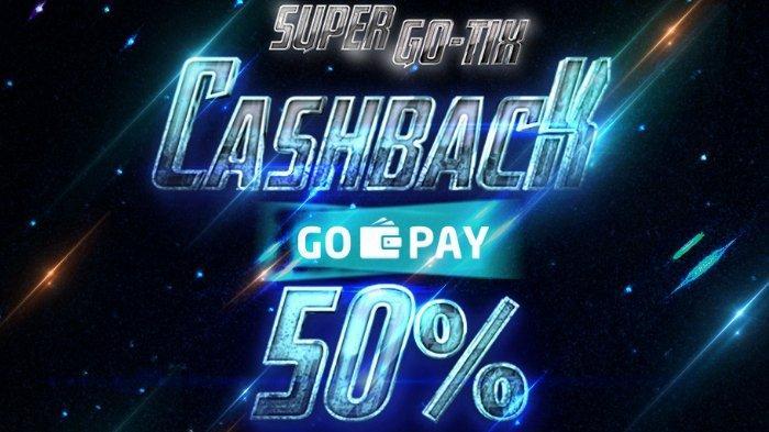Hari Terakhir Promo GO-TIX, Cashback hingga 50 Persen Pembelian Tiket Film Bioskop